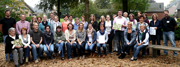 Die Teilnehmer des Workshops am 01. Okt. 2014