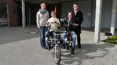 v. l.: Margit Kasparek, Lucia Deiters, Jutta Bonhoff, Philipp Holtschlag.
