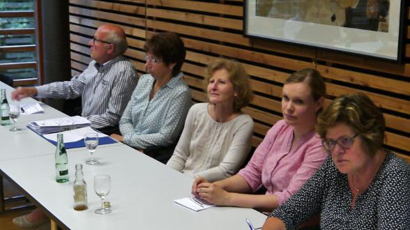 v. l.: Thomas Gesing, Rita Grömping, Sandra Lordieck, Kathrin Bonhoff, Ruth Beering.