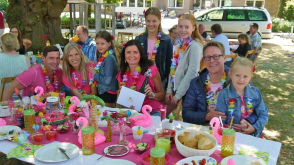 Den 3. Platz belegten die Familien Hessling und Hogendijk aus Erle.