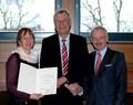 Jutta Bonhoff, RP Prof. Dr. R. Klenke, Dr. Koch