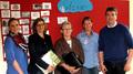 v.l.: Frau Kathrin Bonhoff (Stiftung REH, WFG), Frau Droste (WFG), Frau Schmidt (Silvesterschule), Frau Jutta Bonhoff (Stiftung REH), Herr Schlüter (Sebastianschule)